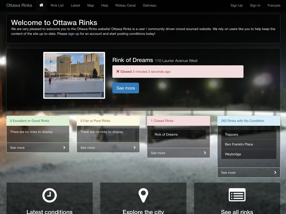 Ottawa Rinks